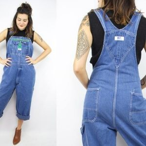 Vintage Liberty ~ Blue Jean Overalls ~ Size Y16